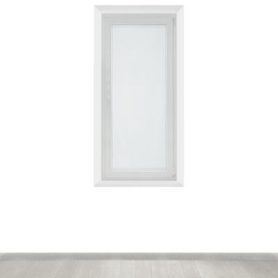 Tendina a vetro per finestra Siria bianco 58 x 160 cm