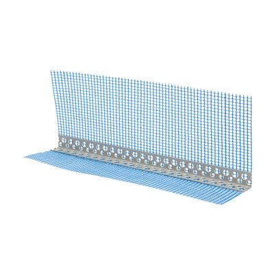 Angolare con rete in pvc 80 X 120 X 25000 mm, confezione da 50 pezzi