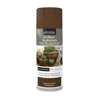 Spray effetto Rustolium sabbiato marrone autumn 400 ml