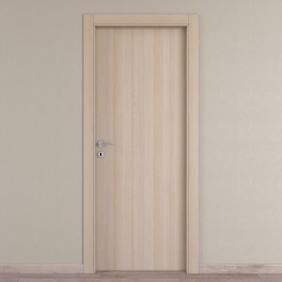 Porta da interno battente Young rovere sbiancato 80 x H 210 cm reversibile