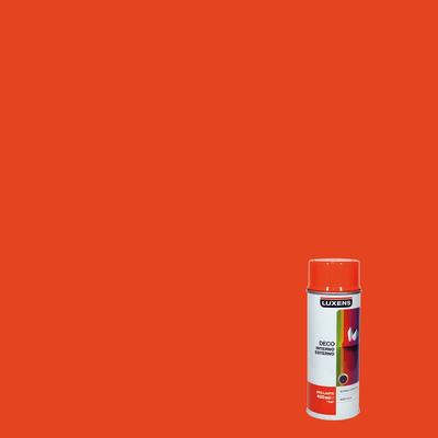 Smalto spray Deco Luxens arancio puro RAL 2004 brillante 400 ml
