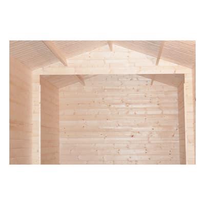 Garage in legno grezzo Baja, 19,72 m²