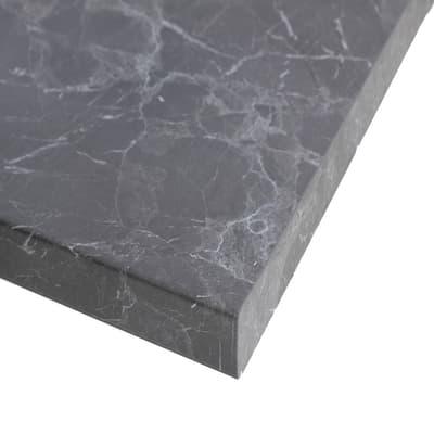 Piano cucina su misura laminato grigio 6 cm