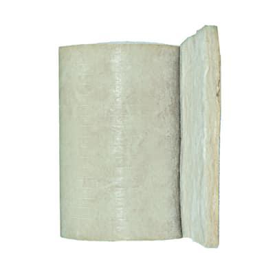Rotolo in lana di vetro PAR Gold 4+ Isover L 0,6 m, spessore 7 cm