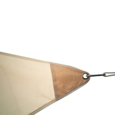 Vela ombreggiante triangolare ecru