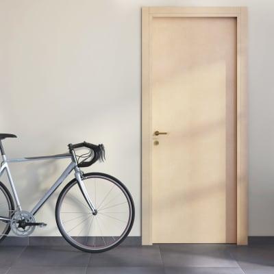 Porta da interno scorrevole saint germain grezza 80 x h 210 cm reversibile prezzi e offerte - Porte interno leroy merlin ...