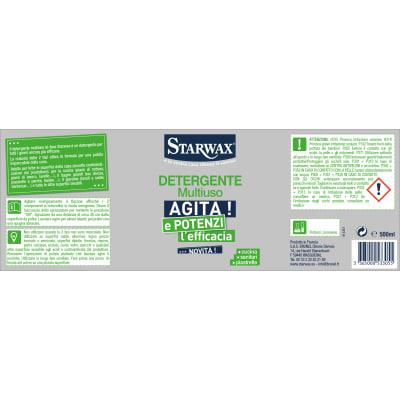 Detergente Starwax Multisuperfici bi-fase 0,5 L