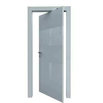 Porta da interno rototraslante Melangè bianco 70 x H 210 cm dx