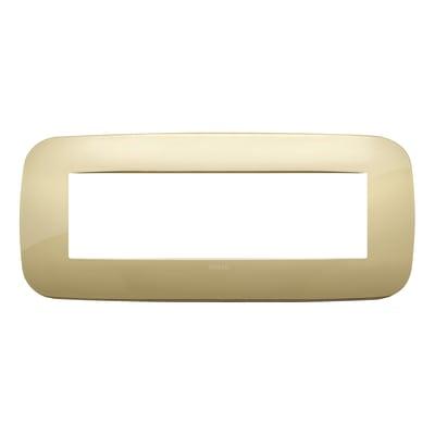 Placca 7 moduli Vimar 19687.27 Arké oro