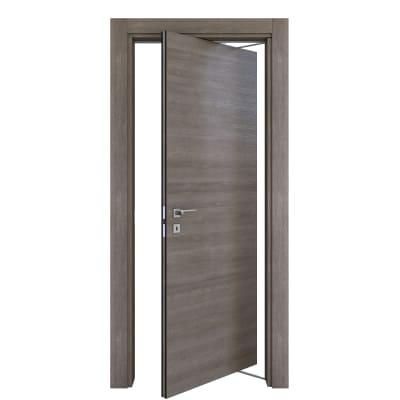 Porta da interno rototraslante Starwood pietra 70 x H 210 cm dx