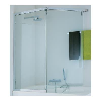 Parete vasca twist l 116 148 cm sx prezzi e offerte online - Leroy merlin parete vasca bagno ...