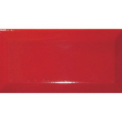 Piastrella Metro 7,5 x 15 cm rosso