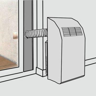 Pannello finestra per condizionatori portatili 460 x 300 x - Condizionatori da finestra prezzi ...