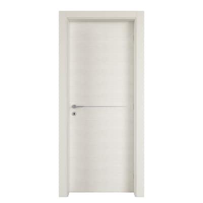Porta da interno battente Hollow bianco matrix 60 x H 210 cm dx