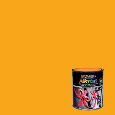 Smalto per ferro antiruggine Alkyton giallo RAL 1007 brillante 0,75 L