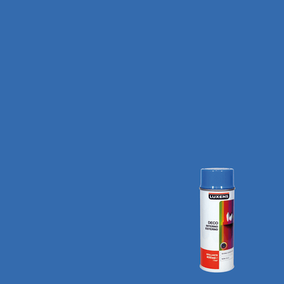 Smalto spray Deco Luxens blu luce RAL 5012 brillante 400 ml
