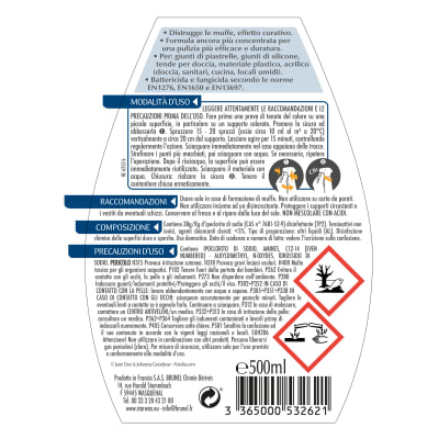Detergente Starwax Antimuffa per bagno 500 ml