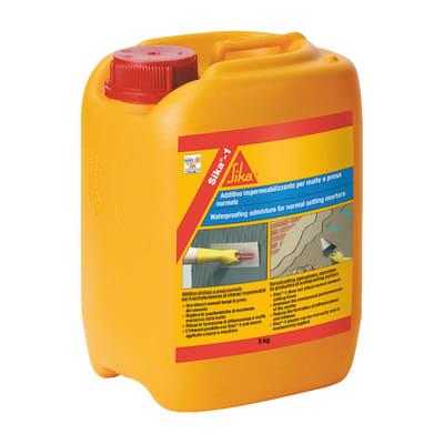 Additivo impermeabilizzante per uso esterno Sika 5 L