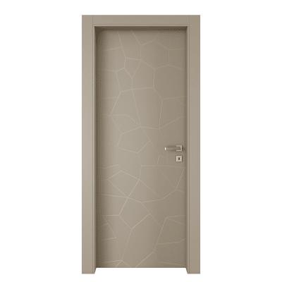 Porta da interno battente The Thing grigio 90 x H 210 cm sx