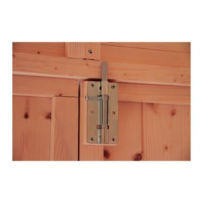 casetta in legno grezzo Gyor 4,28 m², spessore 14 mm
