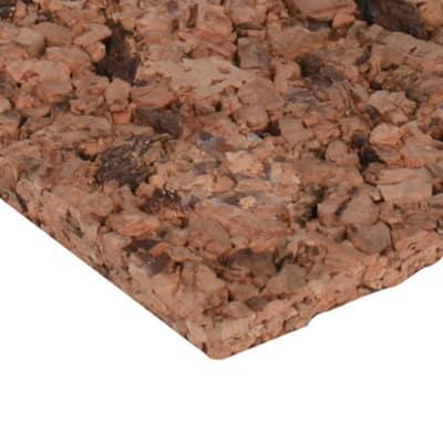 Pannello isolante in sughero Fortlan L 1000 mm x H 500 mm, spessore 50 mm