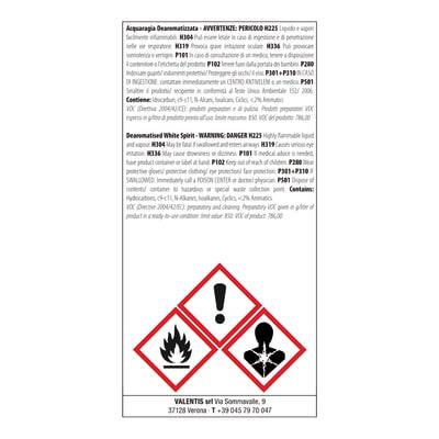 Acquaragia inodore Axton 0,5 L