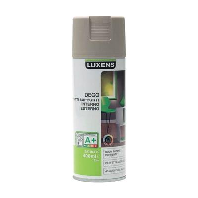 Smalto spray Deco Luxens Marrone Talpa 3 satinato 400 ml