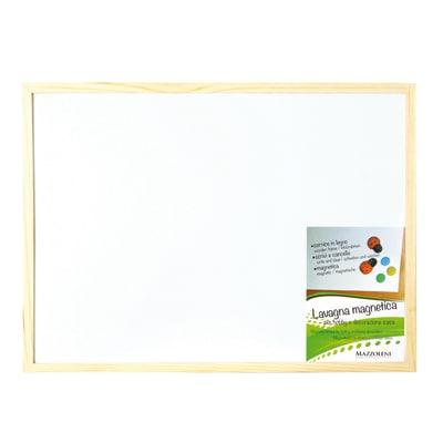Lavagna magnetica Cornice legno 60 x 45 cm