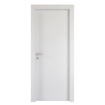 Porta da interno battente Wild bianco 60 x H 210 cm dx