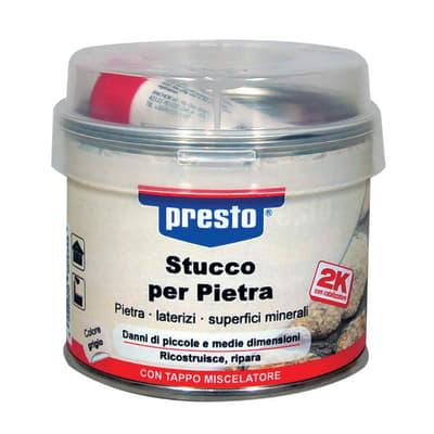 Stucco per Pietra Presto grigio 250 g