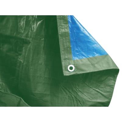 Telo protettivo occhiellato 5 x 3 m 90 g/m²