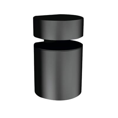 Reggimensola Basket nero 5 x 3,8 cm