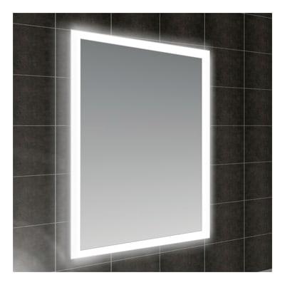 Specchio retroilluminato fog 60 x 80 cm prezzi e offerte online leroy merlin - Specchio leroy merlin ...
