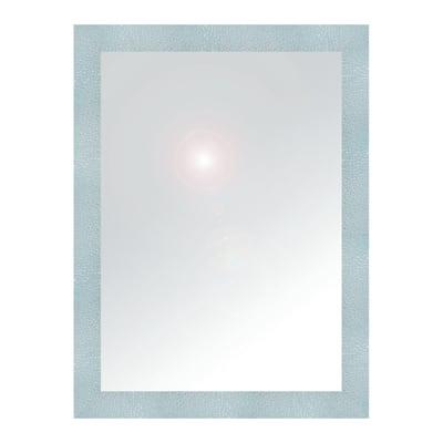 Specchio da parete rettangolare new york alluminio 60 x 80 - Specchio rettangolare da parete ...