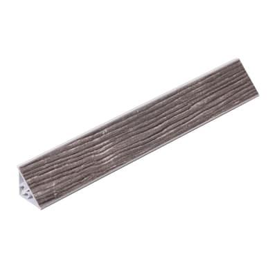 Alzatina PVC rovere dreda L 300 x H 2,5 cm