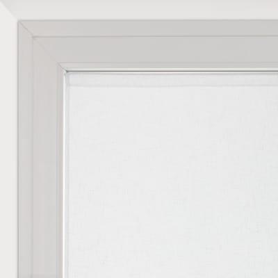 Tendina a vetro per finestra Dalia bianco 90 x 160 cm