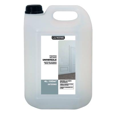 Fissativo isolante Luxens trasparente 4 L