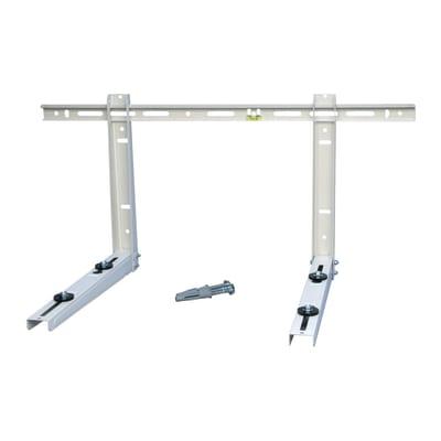 Mensola per climatizzatore con traversa 80 kg 800 x 380 x 450 mm