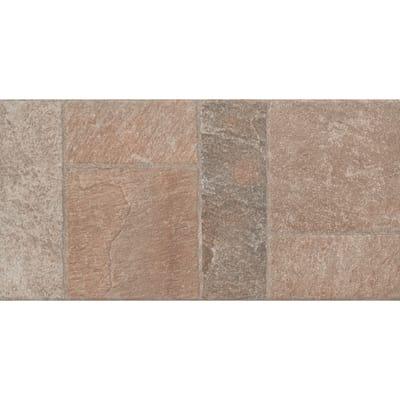 Piastrella Modulare 30,2 x 60,4 cm grigio, beige