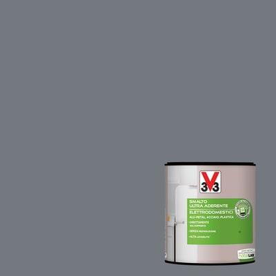 Smalto Elettrodomestici V33 grigio carbonio satinato 0,5 L
