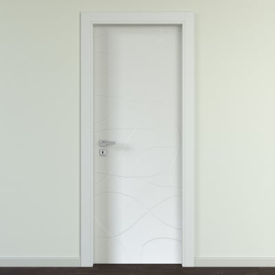 Porta da interno battente Wind silk 60 x H 210 cm dx