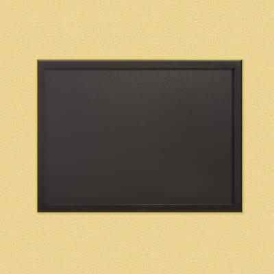 Lavagna Woody nero 60 x 80 cm