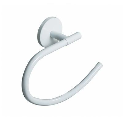 Porta salviette ad anello One Duo bianco