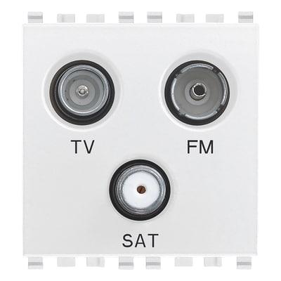Presa TV F Vimar Eikon grigio