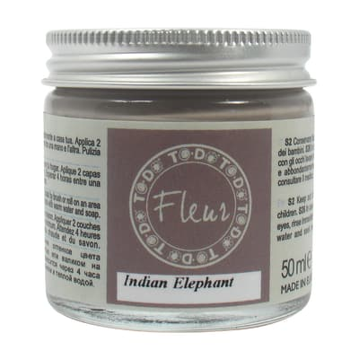 Idropittura traspirante indian elephant 50 ml Fleur
