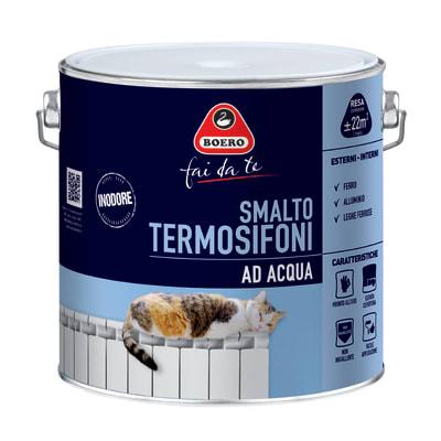 Smalto Termosifoni Boero Bianco satinato 2 L