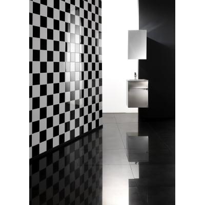 Piastrella Brillant 15 x 15 cm nero