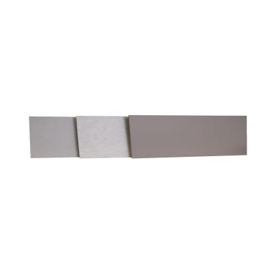 Alzatina su misura Playa laminato grigio H 10 cm