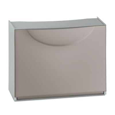 Scarpiera Harmony Box 1 anta a ribalta grigio