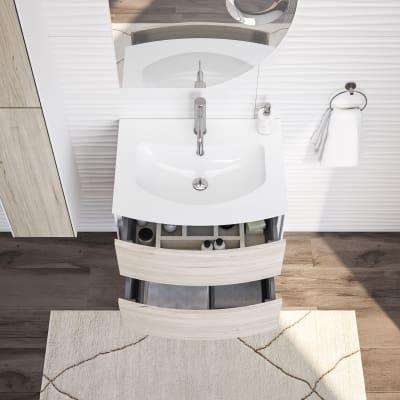 Mobile bagno Soho rovere ecrù L 60 cm